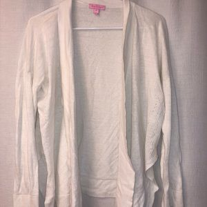 Lilly Pulitzer white sweater